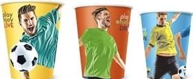 Бумажные стаканы к Чемпионату мира по футболу