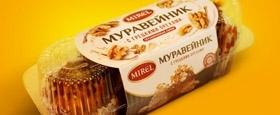 """Новая упаковка для пирожных """"Муравейник"""""""