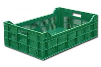 Ящик пластиковый, для овощной продукции, фруктов и ягод