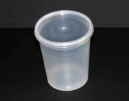 Полипропиленовая пластиковая банка (стакан) (500 мл)