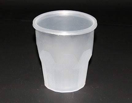 Полипропиленовая пластиковая банка (420 мл) медовая