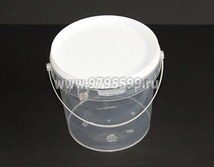Ведро пластиковое 1,2 л