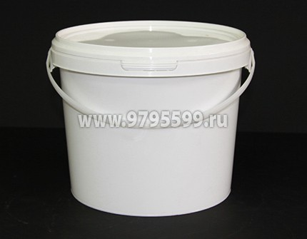 Ведро пластиковое 3,10 л