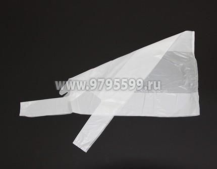 Пакет-майка, 28x50, белый