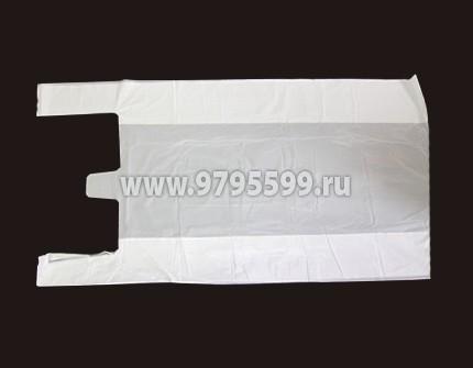 Пакет-майка, 42х75, белый