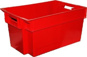 Полимерный ящик для мясной и молочной продукции