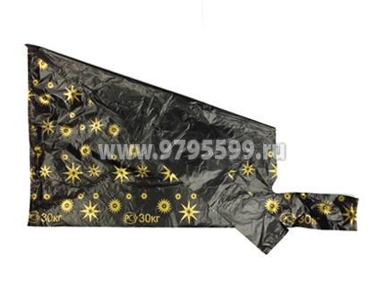 Пакет-майка Звезды, 38x68