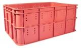 Ящик пластиковый №15 (черный) для колбасной продукции