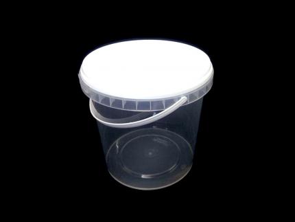 Ведро пластиковое 1,0 л (ТП)