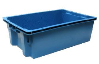 Пластиковый ящик для мясной и колбасной продукции