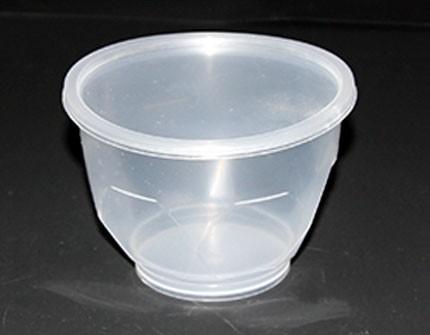 Полипропиленовая пластиковая банка  (240 мл) медовая