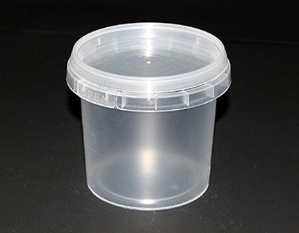Полипропиленовая пластиковая банка  (365 мл)