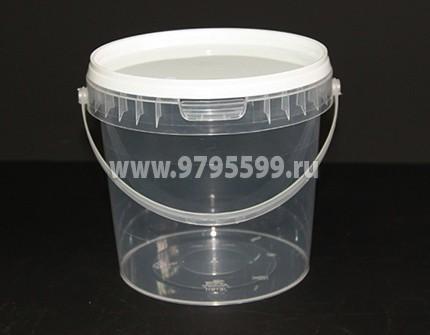 Ведро пластиковое 1,1 л
