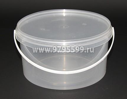 Ведро пластиковое 1,5 л