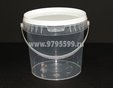 Ведро пластиковое 2,30 л