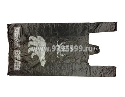 Пакет-майка Медведь, 30x60