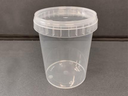 Полипропиленовая пластиковая банка (стакан) (520 мл)