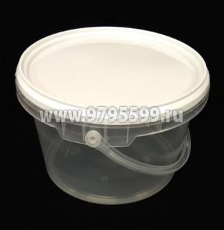 Ведро пластиковое 2,60 л